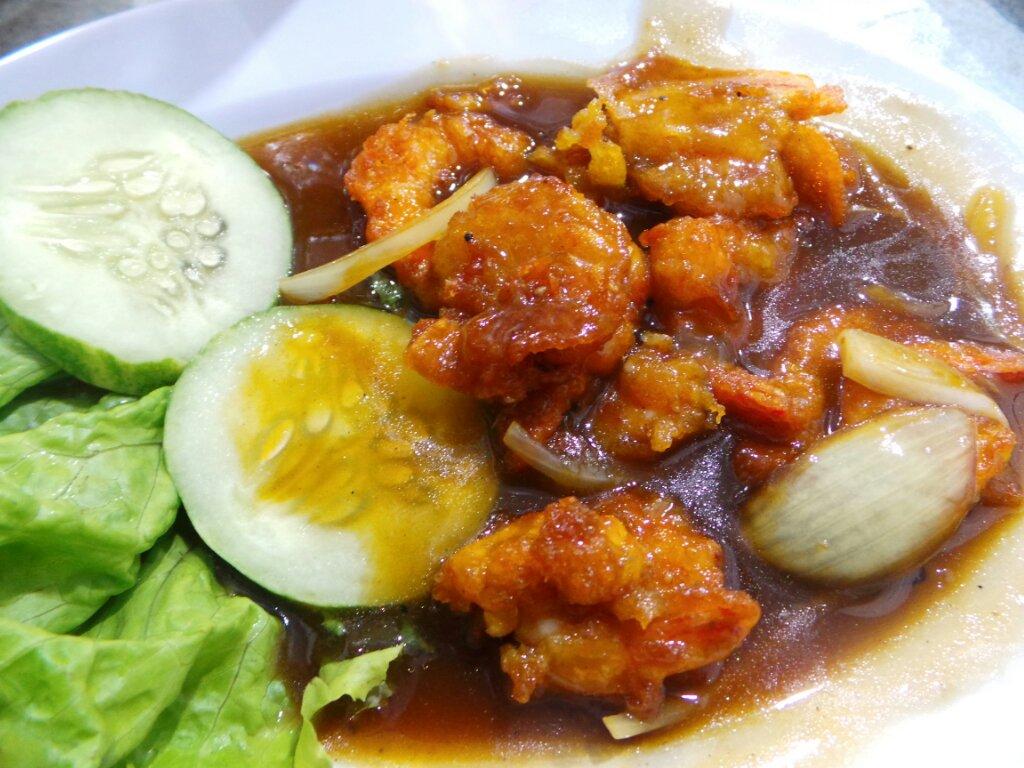 cara membuat udang goreng tepung saus tiram