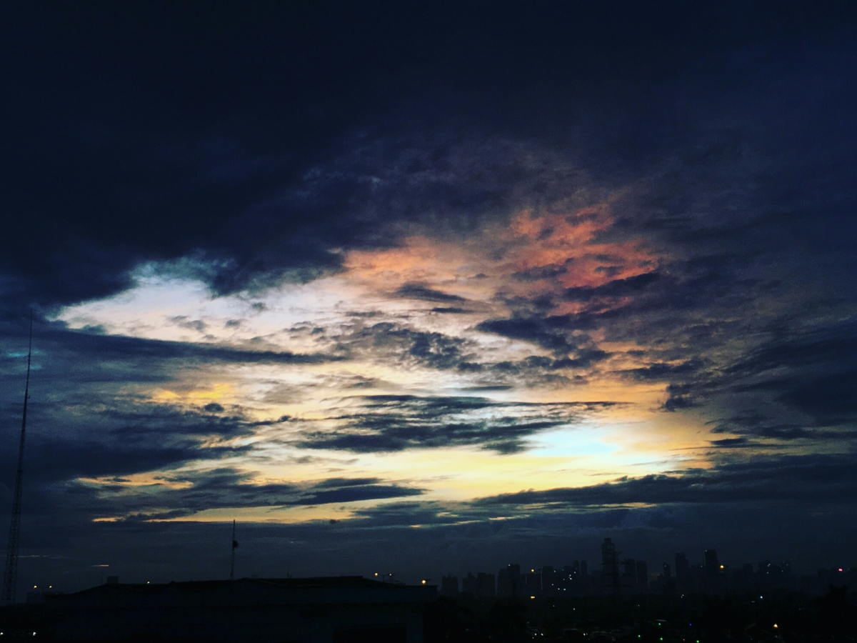 Sunset 6 warna,bacalah